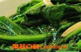 玉米笋炒芥蓝功效和做法步骤